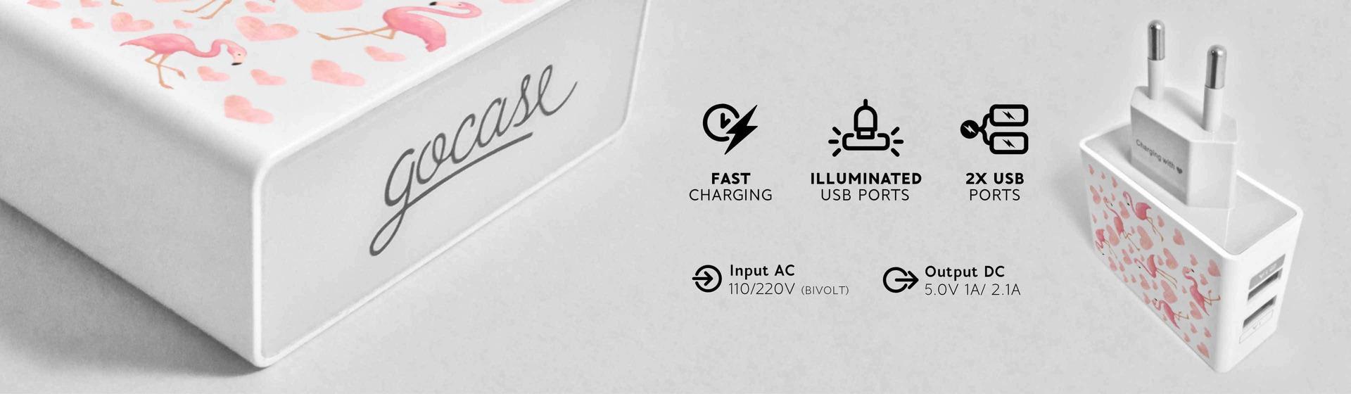 Fast Charging, Iluminated USB Ports, 2x USB Ports