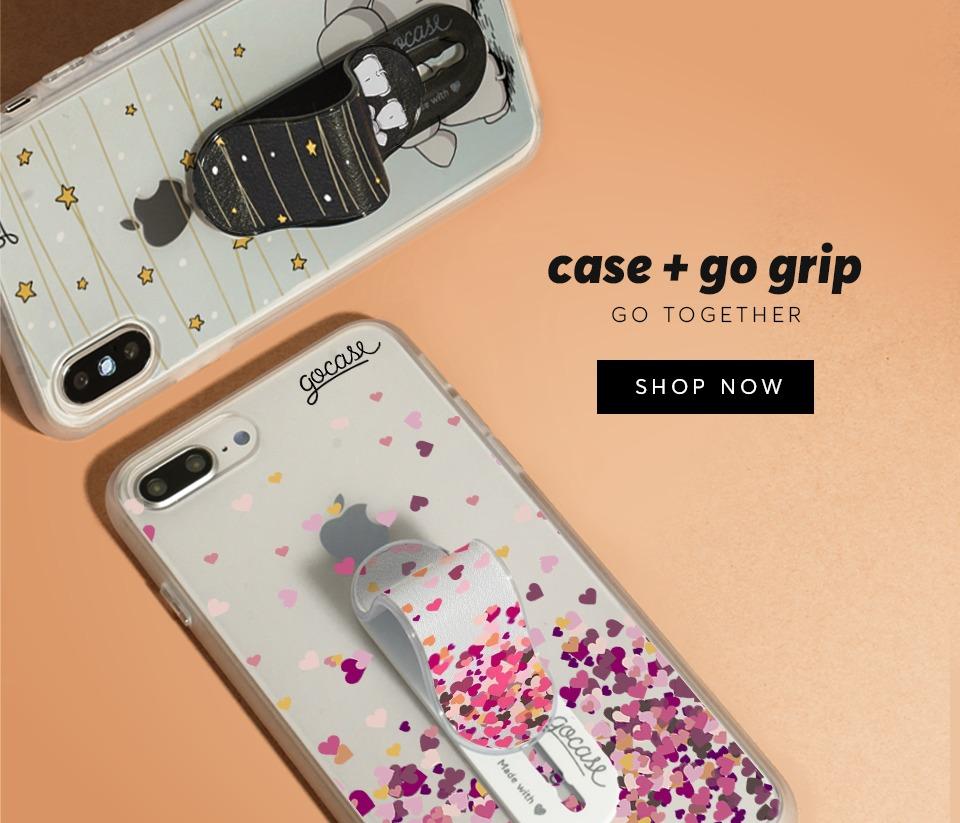 Phone Cases + Gogrip