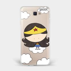 Capinha para celular Mulher Maravilha