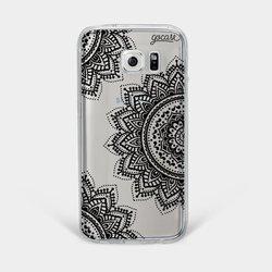 Black Mandala Phone Case
