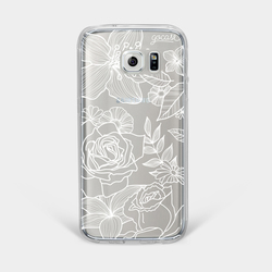 Floral White Phone Case