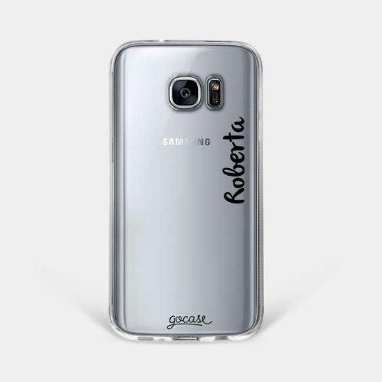 Product capinhacomnome galaxys7edge