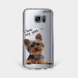 I Love My York Phone Case