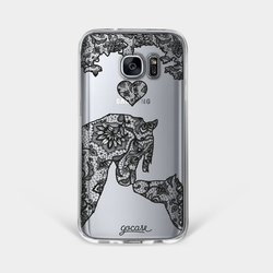 Capinha para celular Cavalo de Renda