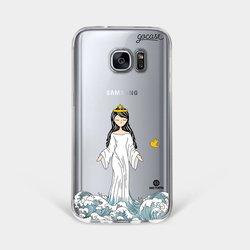 Capinha para celular Rainha dos Mares