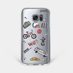 Stranger Patches Phone Case