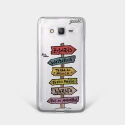 Capinha para celular Siga um Caminho