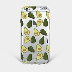 Happy Avocados Phone Case