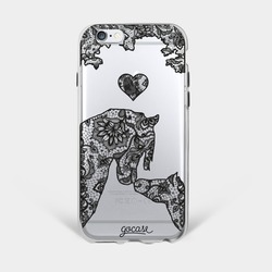 Lace Horses Phone Case