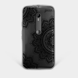 Capinha para celular Black Mandala