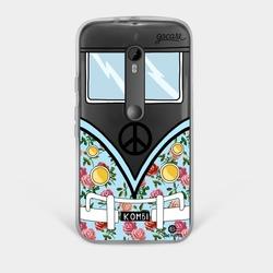 Capinha para celular Kombi Azul