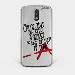 Capinha para celular Pretty Little Secrets