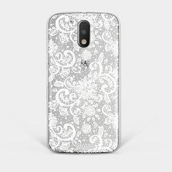 Capinha para celular Renda White