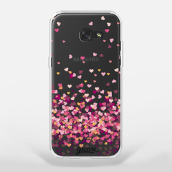 Capinha para celular Corações Flutuantes
