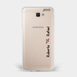 Capinha para celular Eterno amor