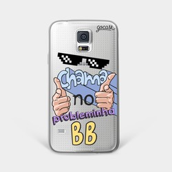 Capinha para celular Chama No Probleminha