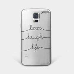 Love Laugh Life Phone Case