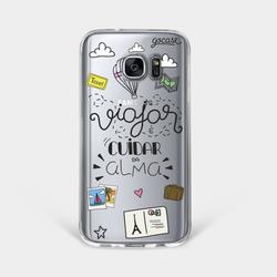 Capinha para celular Cuidando da Alma