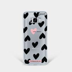 Black Hearts Phone Case