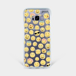 Capinha para celular Patches Carinhas