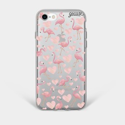 Flamingos Phone Case
