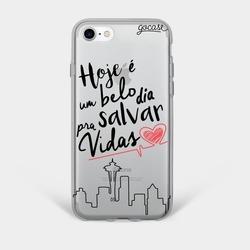 Capinha para celular Salvar Vidas