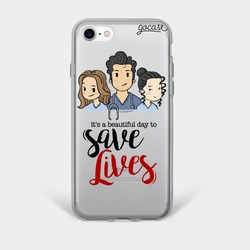 Greys Friends Phone Case