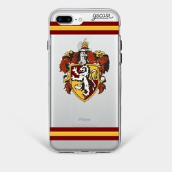 Red House Phone Case