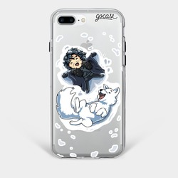 Jon & Ghost  Phone Case