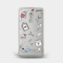 Capinha para celular Cuidados de Médico