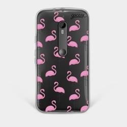 Capinha para celular Flamingos Rosa