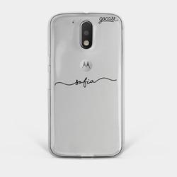 Capinha para celular Capinha Manuscrita