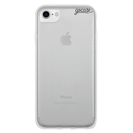Clear Case - Logo Black Phone Case