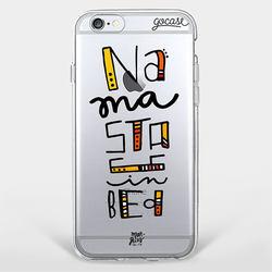 Capinha para celular Namastê