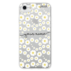 Daisies Handwritten Custom Phone Case