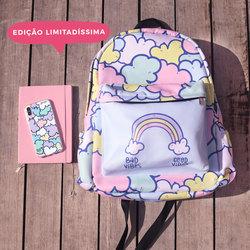 Mochila Gocase Bag - Nuvens Candy