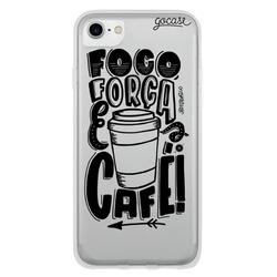 Capinha para celular Foco e Café