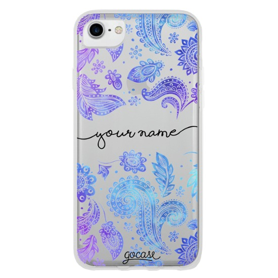 Purple Handwritten Phone Case