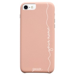 Royal Rose Handwritten Vertical (White) Phone Case