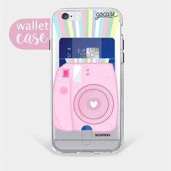 Insta Pink - Wallet Phone Case