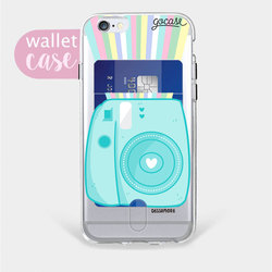 Insta Blue - Wallet Phone Case