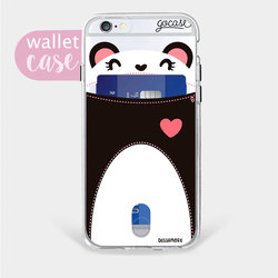 Panda - Wallet Phone Case