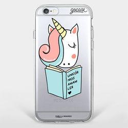 Capinha para celular Unicórnios Leitores