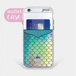 Mermaid - Wallet Phone Case