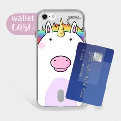 Fat Unicorn - Wallet Phone Case