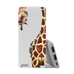 Power Bank Slim Portable Charger (5000mAh) - Giraffe