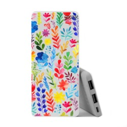 Power Bank Slim Portable Charger (5000mAh) - Multicolor