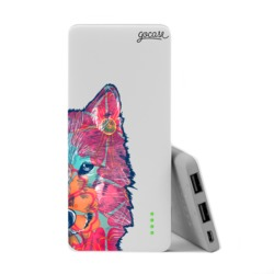 Power Bank Slim Portable Charger (5000mAh) - Wolf