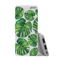 Power Bank Slim Portable Charger (5000mAh) - Tropical Green