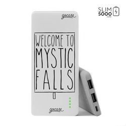 Power Bank Slim Portable Charger (5000mAh) - Mystic Falls